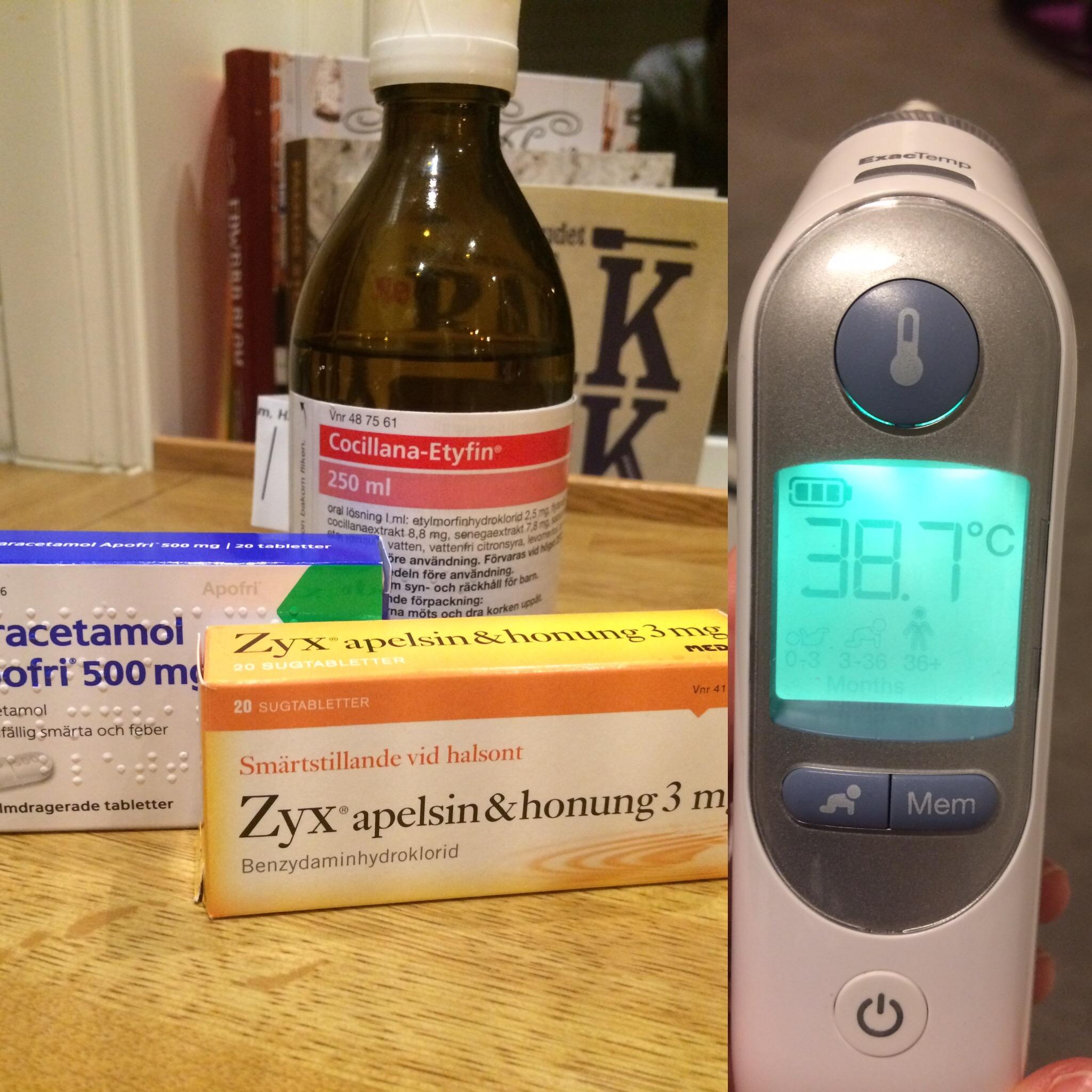 träna förkyld utan feber